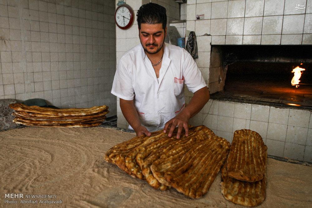 سبز کنجد عکس/ نان به قیمت دلخواه نانوایان - سوک