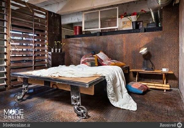 عکس/ خانهای شیک که روزی کارخانهای قدیمی بود