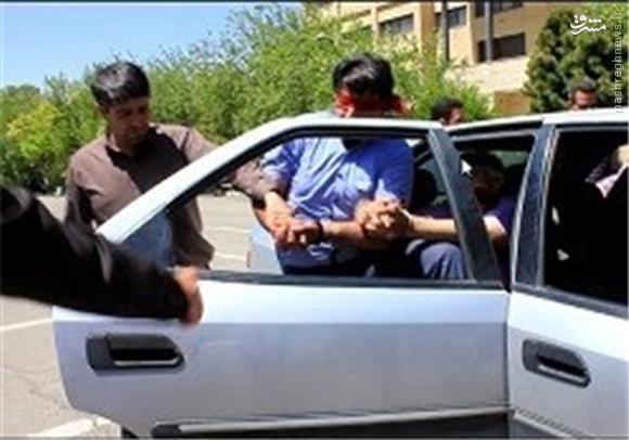 پایان گروگانگیری ۳ میلیاردی در تهران +تصاویر
