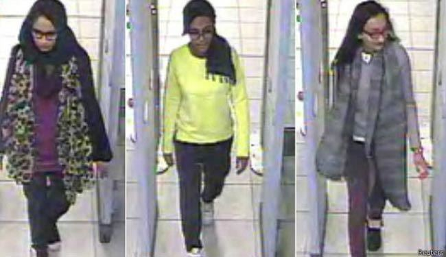 فستفودِ داعش،آخرین پیام دختر ناپدیدشدۀ انگلیسی