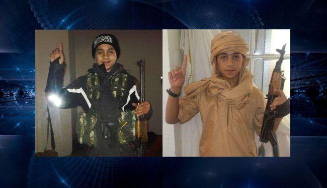 اعدام یک کودک توسط داعشیان سوریه