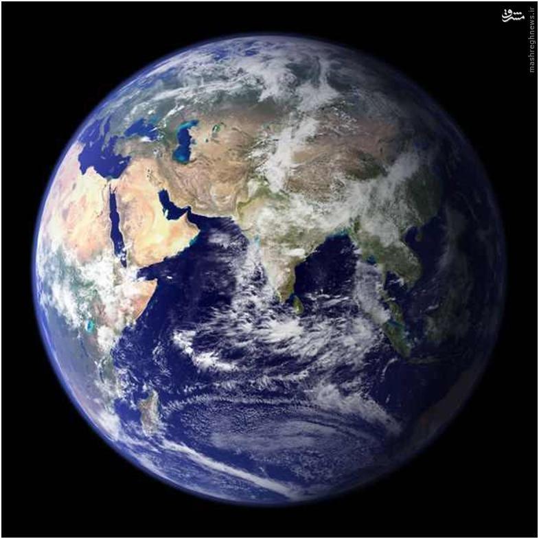این همان کره زمین است که شما روی آن زندگی میکنید