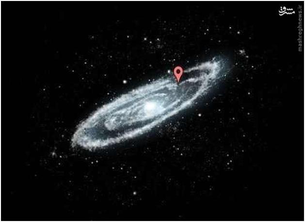 اندازهها غیر قابل مقایسه و باور نکردنی است، نه؟ حالا دقت کنید که کهکشان راه شیری در چنین فضای بیکرانی قرار دارد.