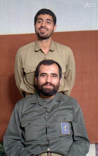 عکس/«حاج قاسم» در کنار سردار هور