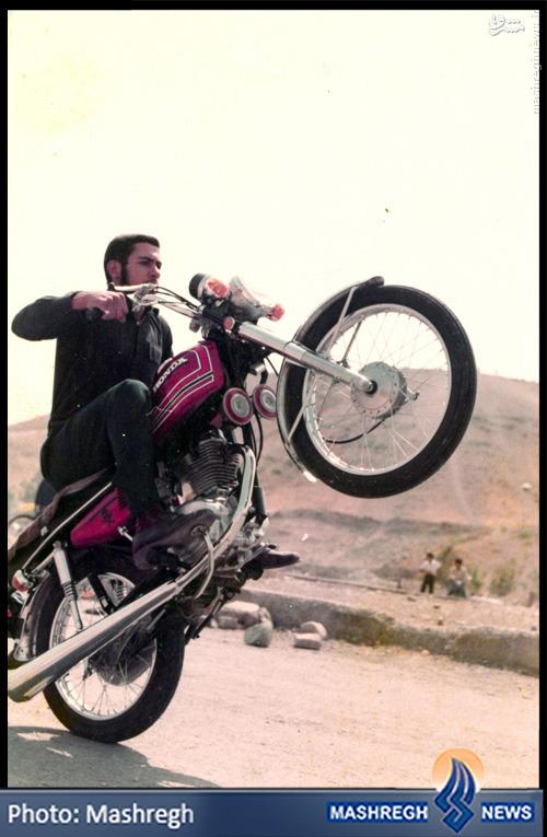 عکس/ «کربلایی حسین» سلطانِ تکچرخ