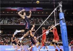 شکست دوباره ملی پوشان والیبال مقابل آمریکا +جدول