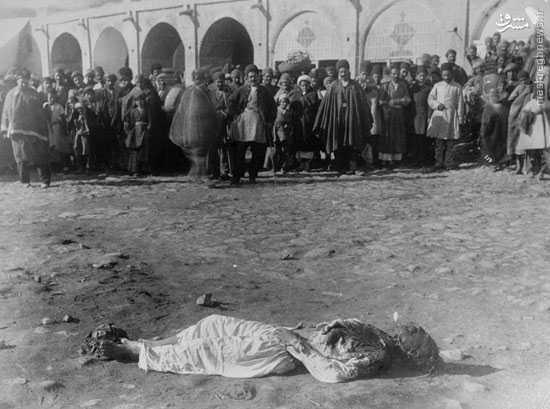 عكس/ اعدام در زمان قاجار