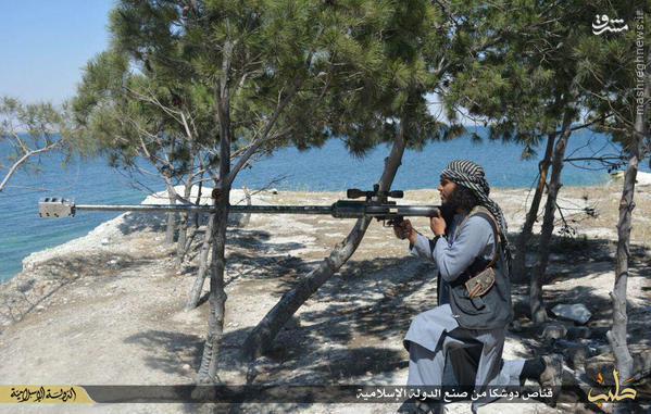 عکس/ سلاح تک تیرانداز ساخت داعش