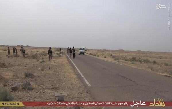 نبردها میان داعش و ارتش عراق در منطقه لاین بغداد