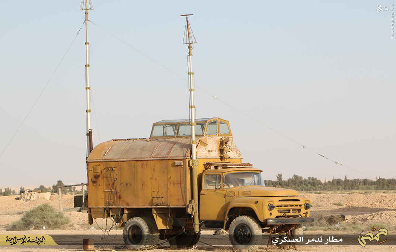 اشغال فرودگاه نظامی تدمر از سوی داعش