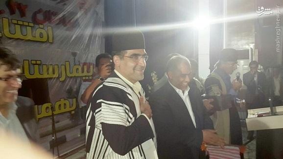 افتتاح بیمارستان 160 تختخوابی مسجدسلیمان