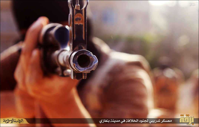 اردوگاه آموزش نظامی داعش در لیبی