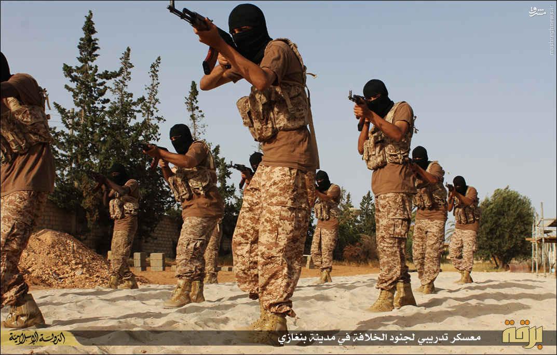 اردوگاه آموزش نظامی داعش در لیبی +عکس و نقشه