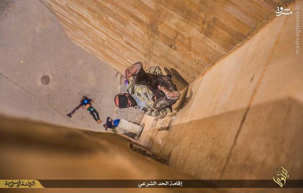 پرتاب از ساختمان شیوه جدید اعدام داعش+تصاویر