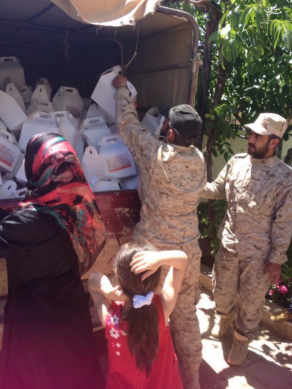 پشتیبانی مردمی از عملیات حزب الله در القلمون+تصاویر
