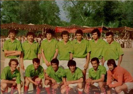 تیم ملی فوتبال 43 سال پیش با پیراهنی که ندیده اید! + عکس