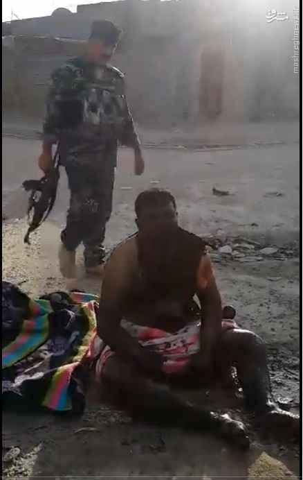 بمبگذار سامراء به تیر غیب گرفتار شد+فیلم و عکس