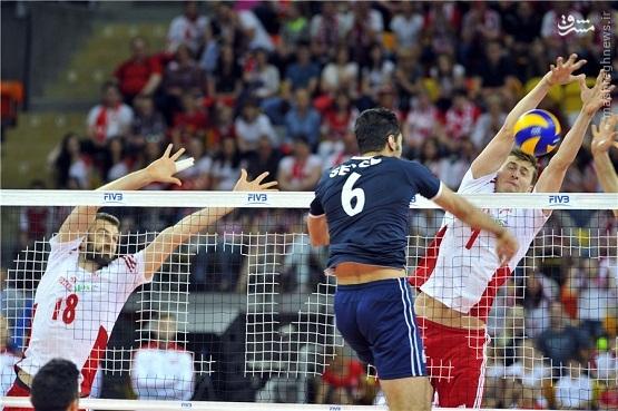 سومین باخت متوالی تیم ملی والیبال/ شاگردان کواچ حریف لهستان نشدند +جدول
