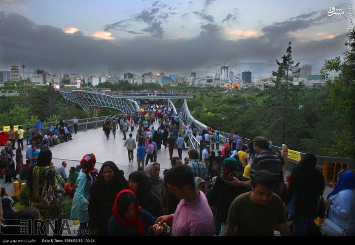 پل طبیعت تهران