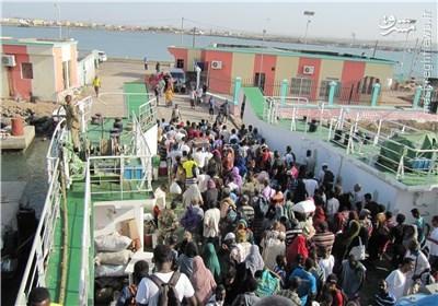 ارسال کمکهای ایران در جیبوتی با پنج کشتی کوچک