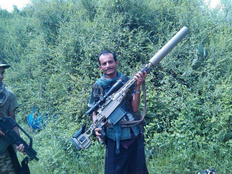 عکس/ غنیمت پیشرفته یمنی ها از ارتش عربستان