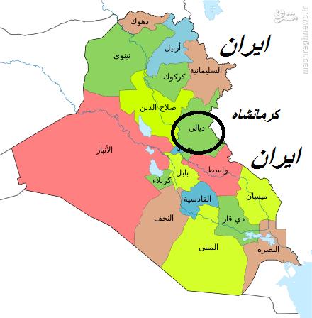 نفوذ داعش به دیالی عراق
