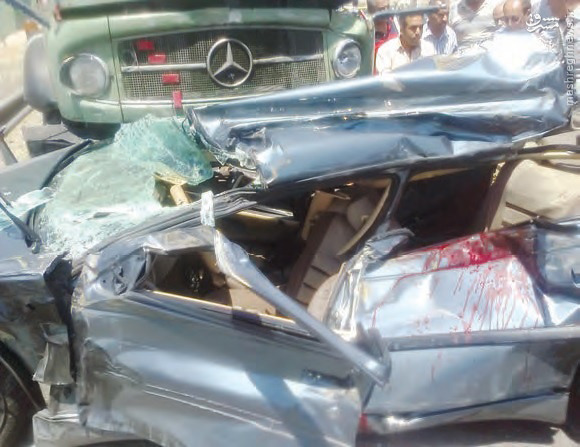 عکس تصادف مرگبار عکس تصادف حوادث واقعی اخبار حوادث اخبار تصادف