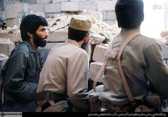 عکس/«آقا» و شهید جهانآرا در خرمشهر
