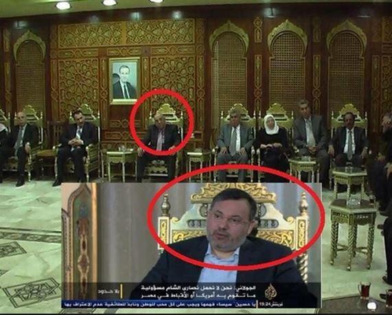 سرکرده جبهة النصرة: آمریکاییها با بشار اسد توافق کردهاند/ جنجال لباس و صندلی الجولانی در مصاحبه با الجزیره