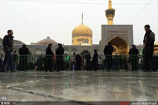 تدفین زائران عربستانی در جوار بارگاه منور رضوی