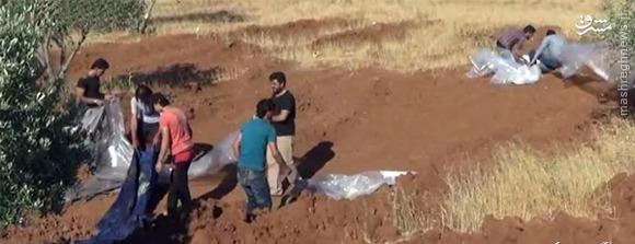 پیکر مطهر ۶۵ شهید مدافع حرم در سوریه مبادله شد +تصاویر