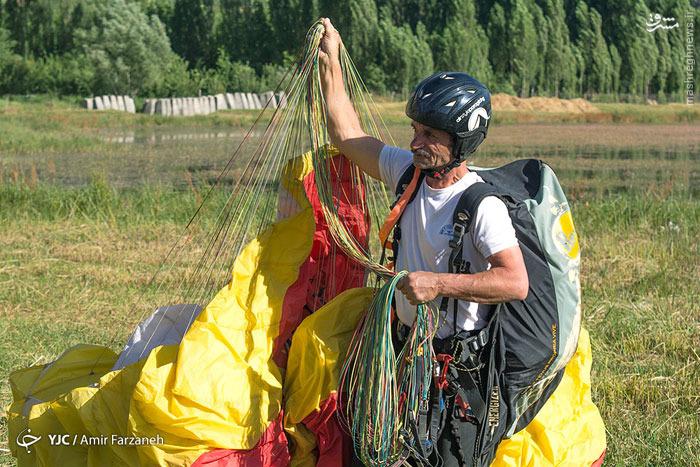 فستیوال پاراگلایدر سواری در ایران