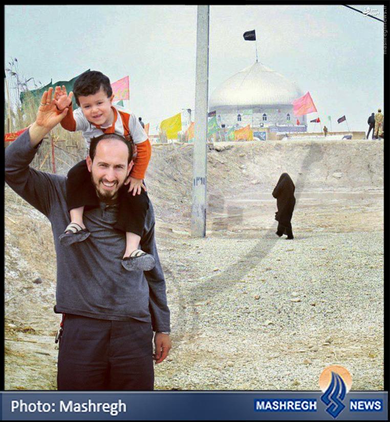 عکس/ «مدافع حرم» در «شلمچه»