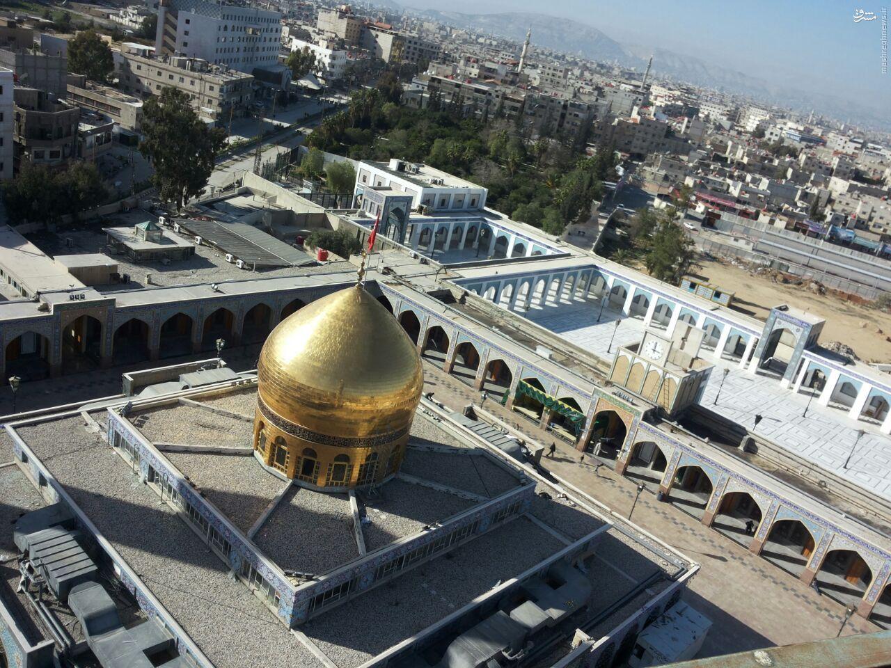 آغاز بازسازی حرم حضرت زینب (س)+نقشه و تصاویر