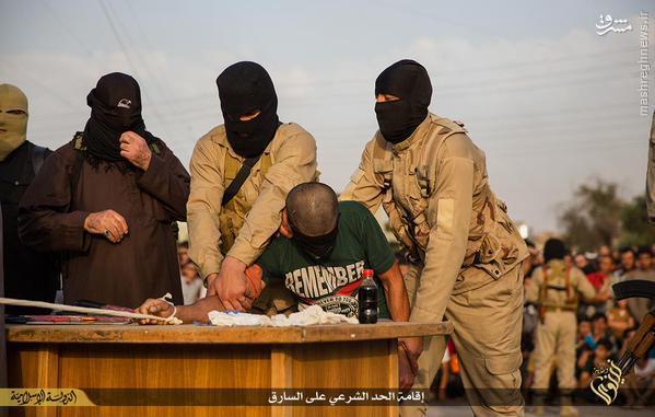 قطع دست شهروند عراقی توسط داعش+تصاویر(+18)