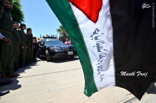 دفن جسد طارق عزیز در اردن+تصاویر