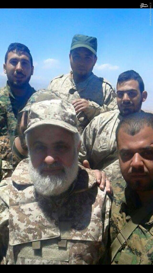 جانشین نصرالله در میدان جنگ علیه داعش+عکس
