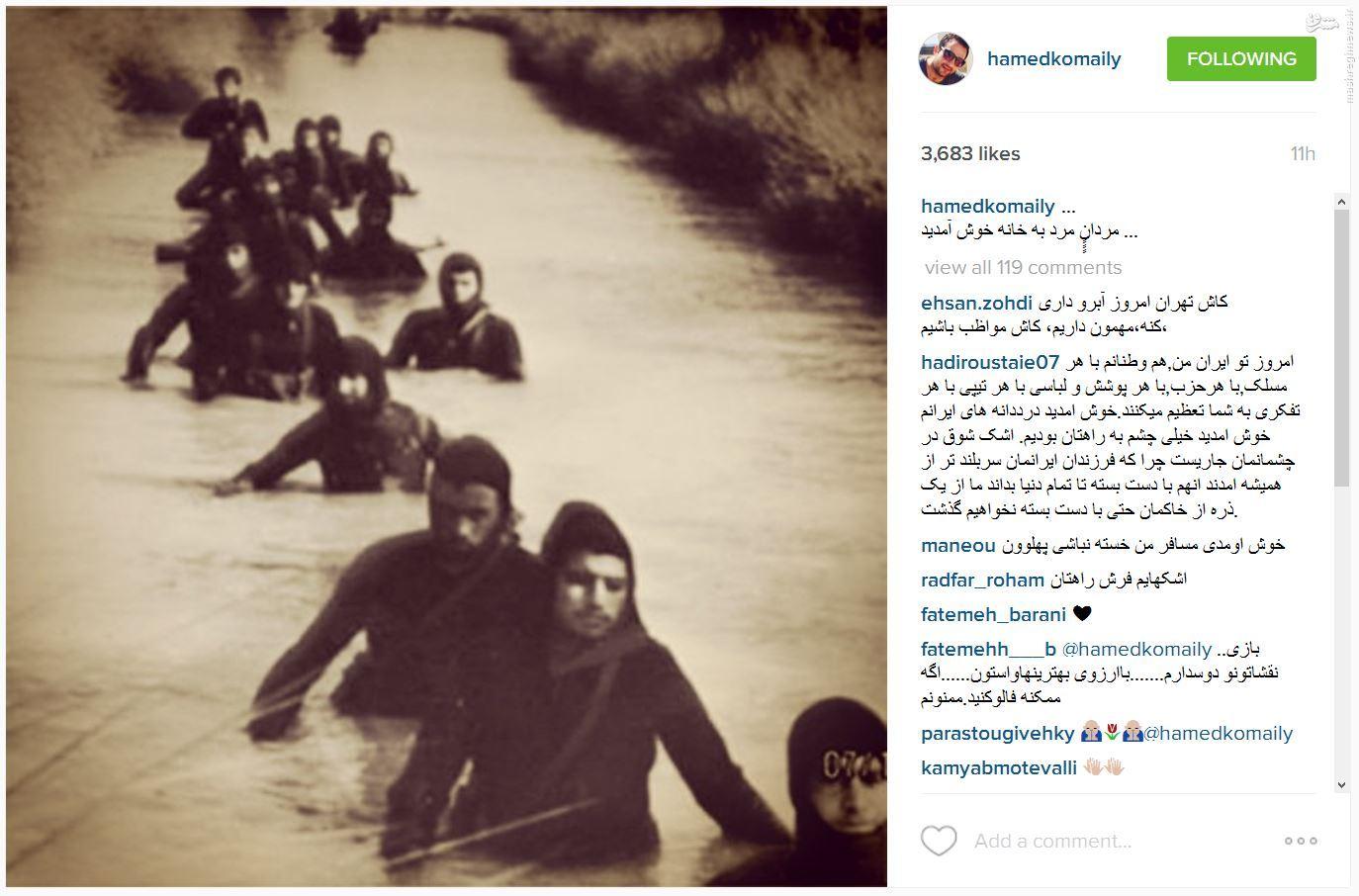 حامد کمیلی، بازیگر