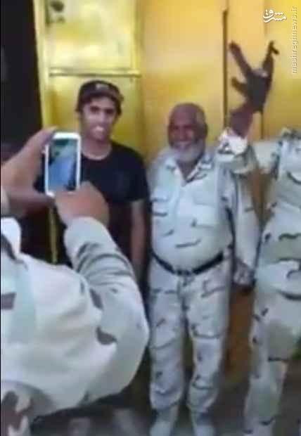 حضور بازیکن تراکتور سازی تبریز در جمع بسیج مردمی عراق+تصاویر