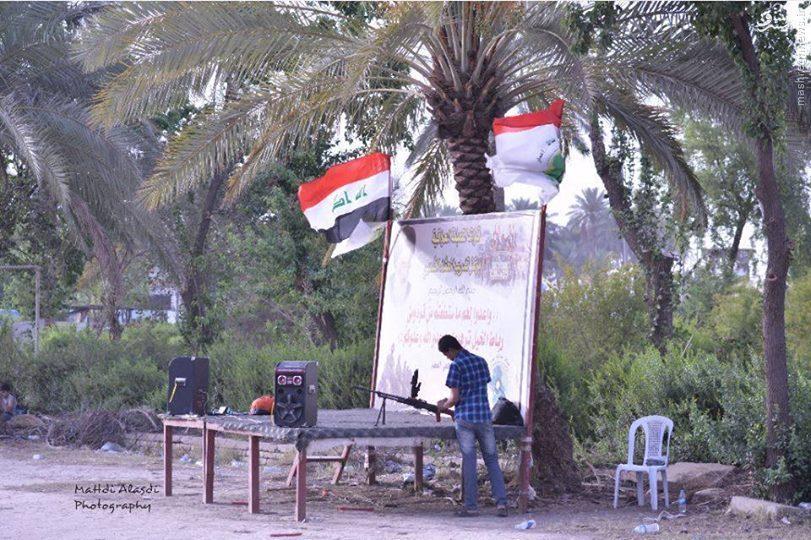 برگزاری دوره های آموزش نظامی در مدارس عراق+تصاویر