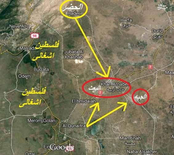 دستور اسراییل به القاعده:از حضر فاصله بگیرید!
