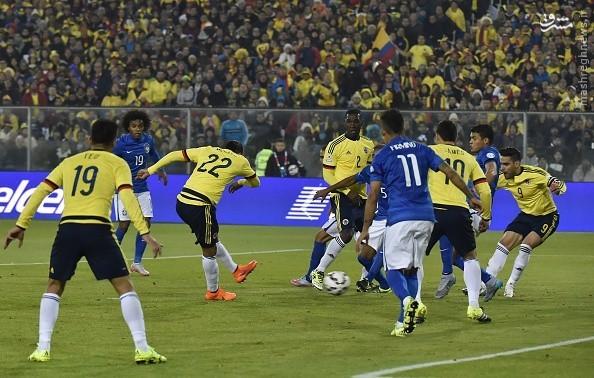 شکست برزیل در کوپا آمهریکا/ کلمبیا انتقام گرفت