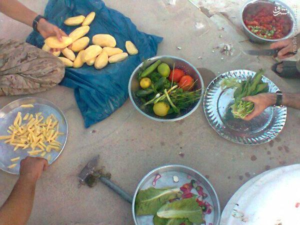 ماه مبارک رمضان در جبهه القلمون+تصاویر