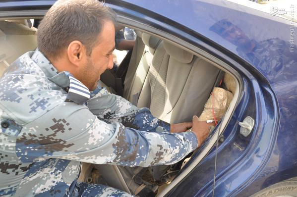 ادامه کشف خودروهای بمبگذاری شده در دروازه های کربلا+تصاویر