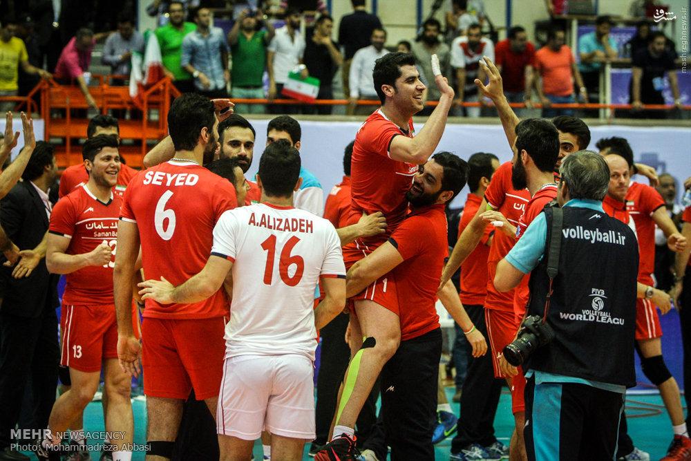 پیروزی قاطعانه ایران مقابل مدافع عنوان قهرمانی/ آمریکا در «آزادی» زانو زد +جدول