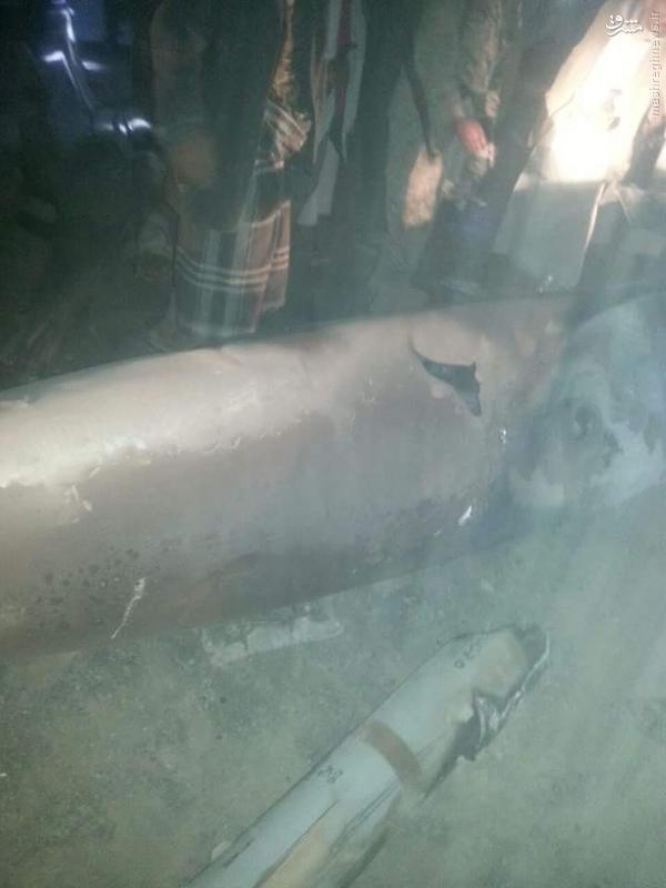 خبر فوری:انهدام و سقوط یک فروند جنگنده سعودی در شمال شهر صنعا