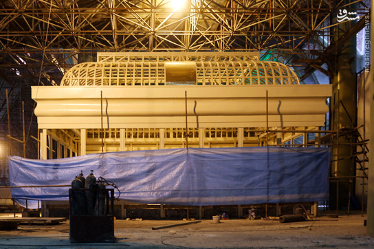 عکس/ ضریح و سنگ مزار جدید امام خمینی(ره)