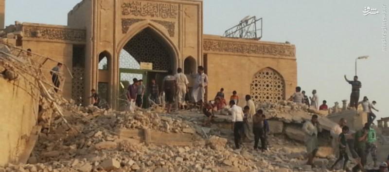 داعش مقبره یونس نبی (ع) را به پارک تبدیل می کند