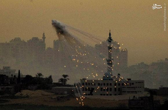 همکاری جدید آمریکا و اسرائیل: جنایات جنگی با فسفر سفید