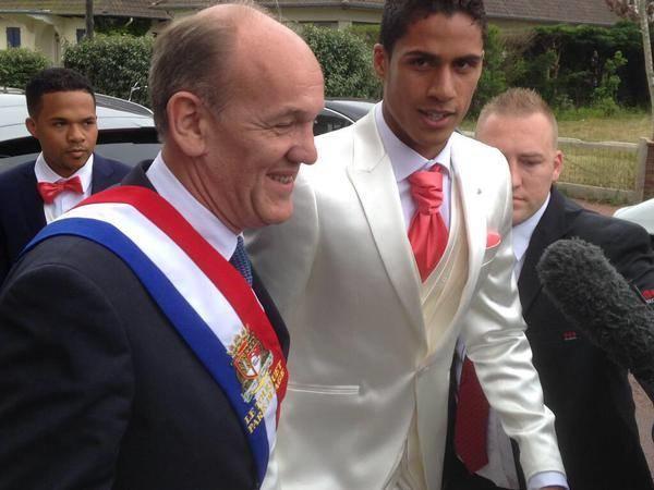 ستاره رئال مادرید در لباس دامادی